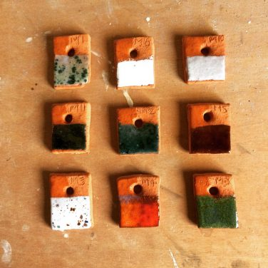 test_tiles_art_clay_ceramics_square