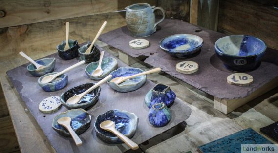 dartington pottery landworks charity ceramics for sale christmas market garden stall shop 3 569x314 - Prisoner Training & Placements