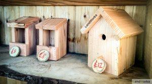 landworks charity christmas market garden stall handmade wooden gifts birdboxes 300x166 - Prisoner Training & Placements