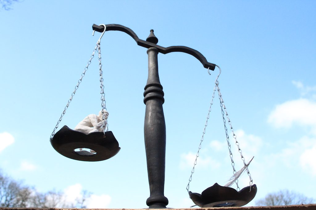 balancing scales justice koestler enrty art landworks 2 1024x683 - Prisoner Training & Placements