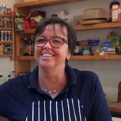 julie parsons cooking volunteer chef landworks - Prisoner Training & Placements