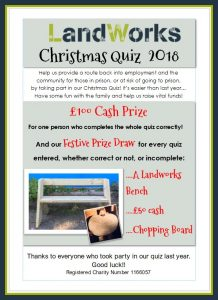 quiz front cover in frame 218x300 - Prisoner Training & Placements